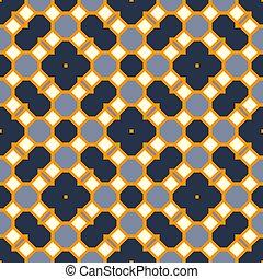 Seamless pattern kaleidoscopic texture background