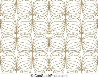 seamless, pattern., kleren, abstract, golvend, geometrisch,...