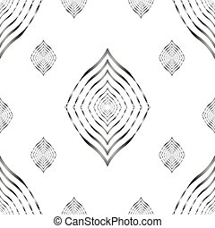 seamless pattern lines geometric vector background