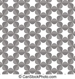 seamless pattern monochrome vector