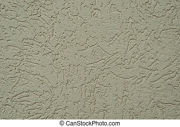 natural texture of the decorative stucco