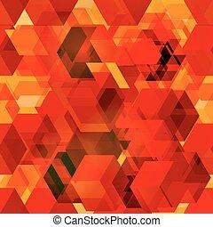 Seamless pattern of 3d cubes.