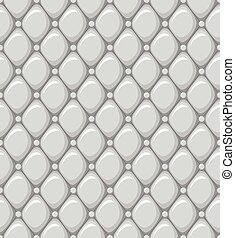 Seamless Pattern of a Leather Upholstery