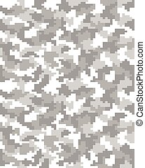 digital gray camouflage