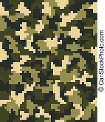 digital green camouflage