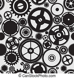 SEAMLESS pattern of gears