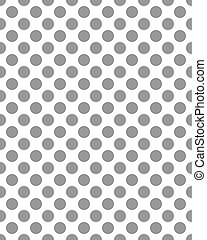 pattern of gray dots