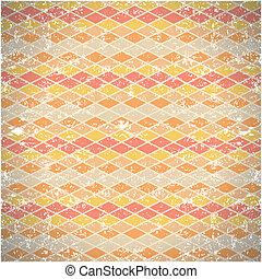 seamless pattern of shabby vintage