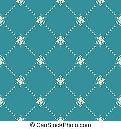 Seamless pattern of snowflakes. EPS 10