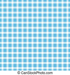 Seamless pattern of squares in shades of blue.