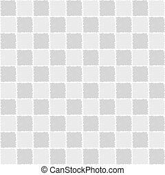 Seamless pattern of squares in sketch style