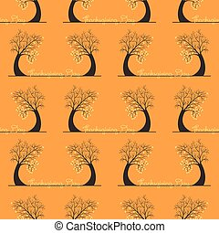 seamless pattern of thanksgiving day
