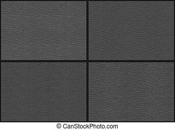 Seamless pattern of water waves