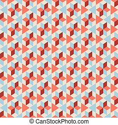 Seamless pattern on a beige background.