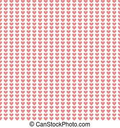 Seamless pattern pink heart