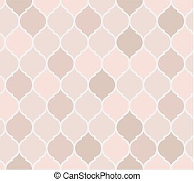 Seamless pattern pink tiles