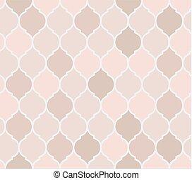Seamless pattern pink tiles