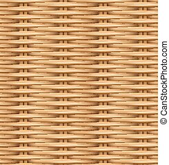 Seamless pattern realistic texture of woven rattan. The ...