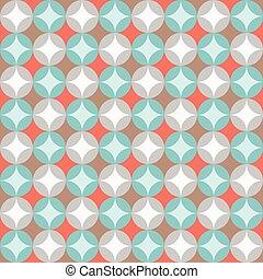 Seamless pattern, retro colourful c