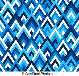 Seamless pattern rhombus style.