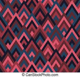 Seamless pattern rhombus style