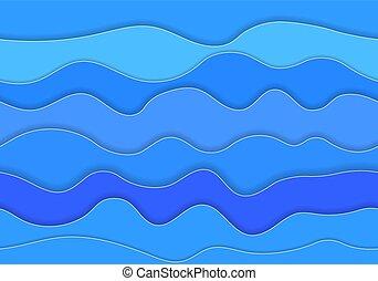 Seamless pattern sea