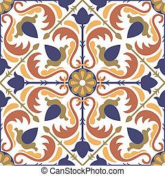 Seamless pattern - Seamless Arabic style pattern