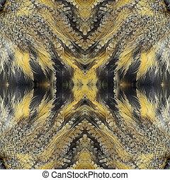seamless pattern - Seamless pattern made from Eurasian Eagle...