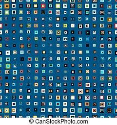 seamless pattern  squares