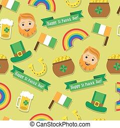 seamless pattern St. Patrick's Day