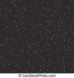 Seamless pattern starry sky. Background space. Stock vector