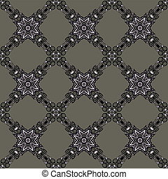 Seamless pattern tile vector web background