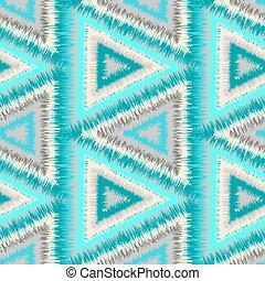 seamless pattern tribal