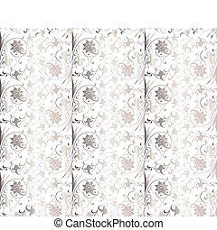 seamless, pattern., vecteur