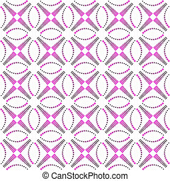 Seamless pattern. Vector art.