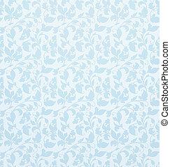 Seamless pattern vector, blue