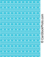 seamless pattern (vector) blue