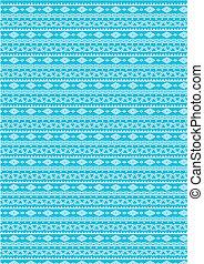 seamless pattern (vector) blue