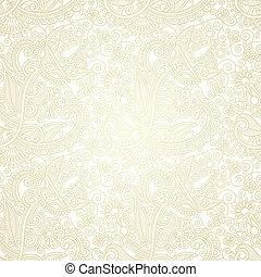 seamless pattern - hand draw ornate seamless pattern