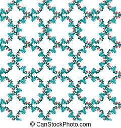 seamless pattern vector colorful illustration with beautiful flowers.