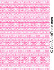 seamless pattern (vector) pink