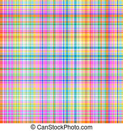 Seamless pattern (vector) - Seamless cell colorful pattern...