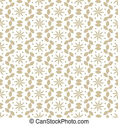 Seamless pattern vector template