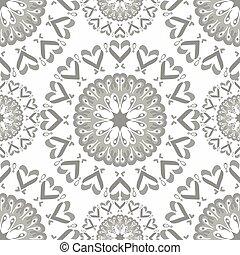 Seamless pattern. Vintage elements. vector illustration
