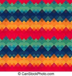 seamless, pattern., weinlese