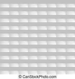 Seamless pattern. White background in the form of bricks.