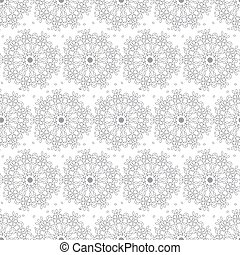 seamless pattern with a linear patt