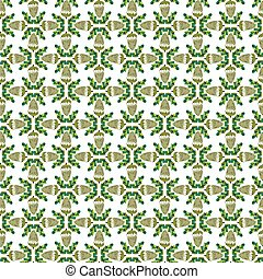 seamless pattern with acorns