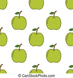 seamless pattern with apple