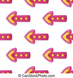 Seamless pattern with arrows-2
